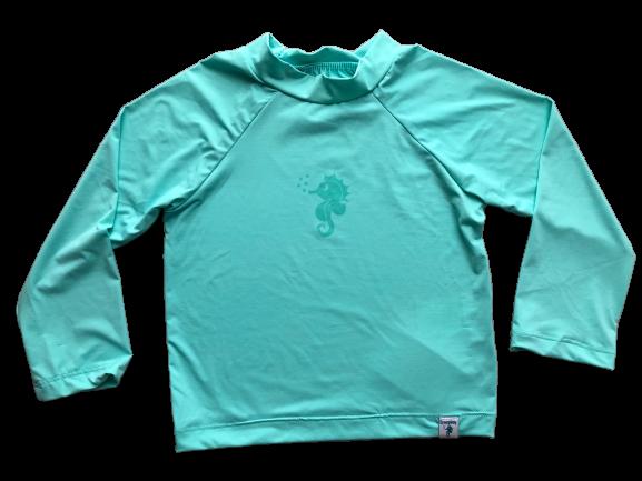 Camiseta para Praia Ecoeplay FPS 50+ Verde Água