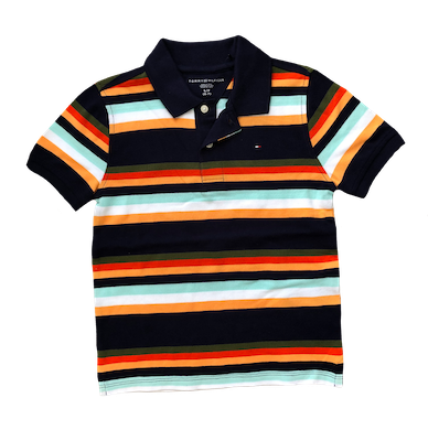 Camiseta Polo listrado Tommy Hilfiger