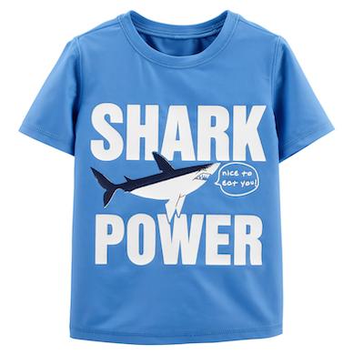Camiseta Praia Shark Power OshKosh