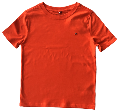 Camiseta Tommy Hilfiger Laranja