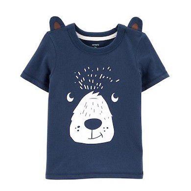 Camiseta Urso com Orelhinhas Carter's