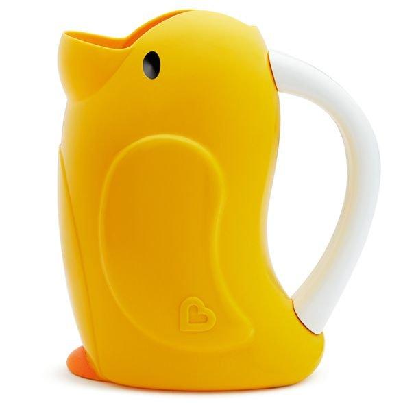 Caneca Macia pra Banho Munchkin Pato Amarelo