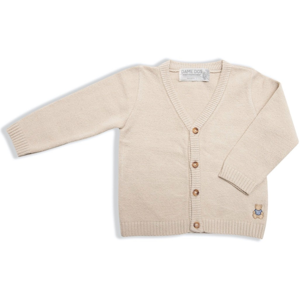 Cardigan Tricot Dame Dos