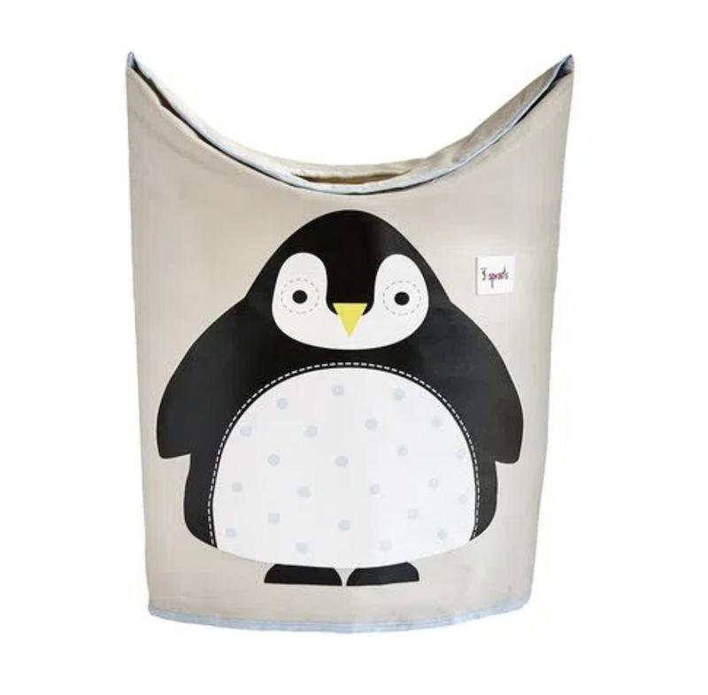 Cesto de Roupas 3 Sprouts Pinguin