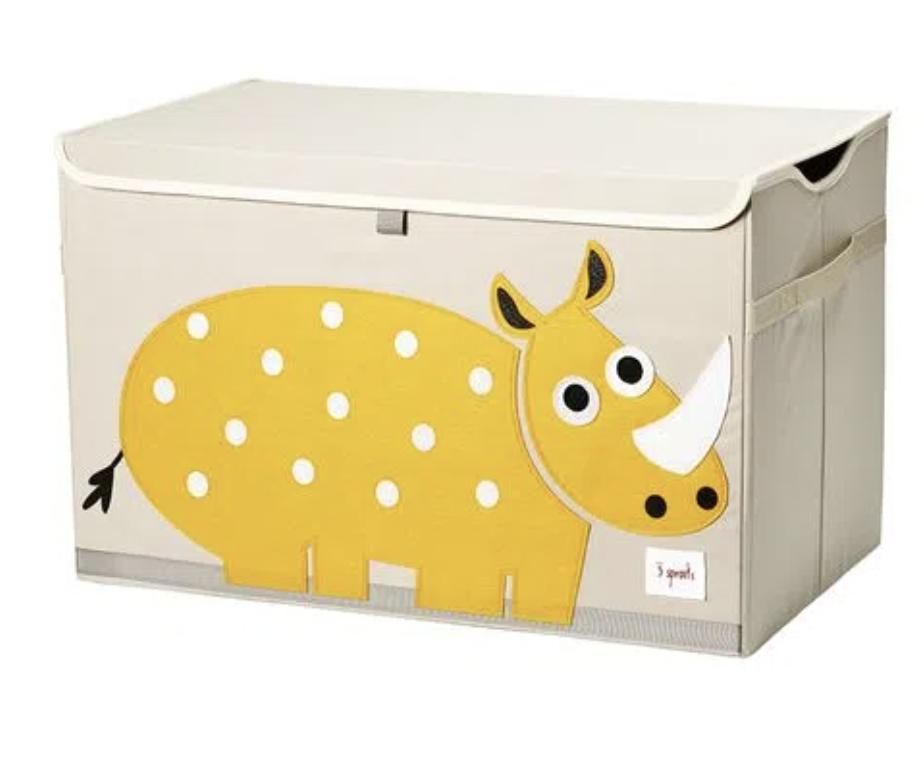 Cesto Organizador Infantil 3 Sprouts Retangular Rhino