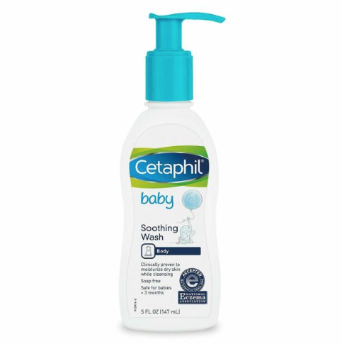 Cetaphil Baby Soothing Wash Body 147ml