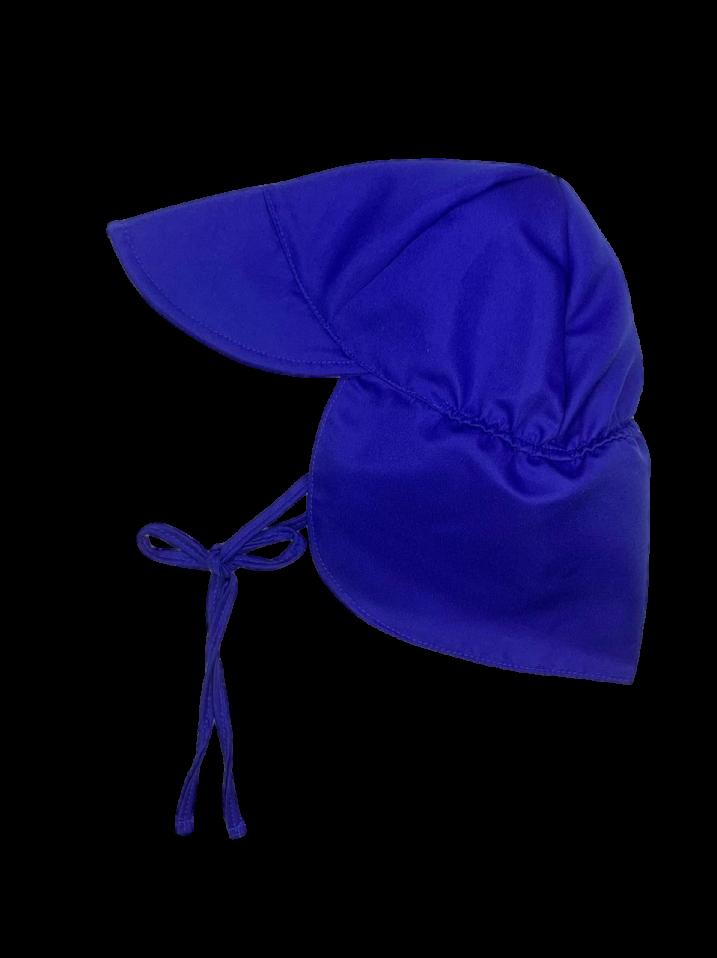 Chapéu de Praia Australiano Ecoeplay com FPS 50+ Ecoeplay Azul Royal