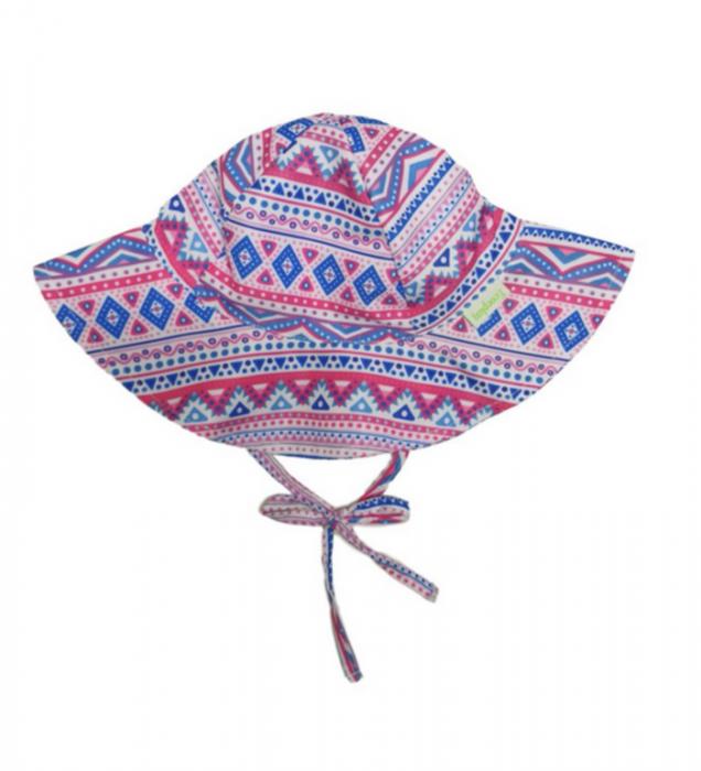Chapéu de Praia Infantil Ecoeplay Geométrico com FPU 50+ Tam.M
