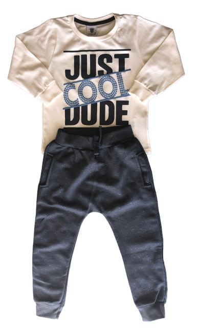 Conjunto By Gus Just Cool Dude Creme