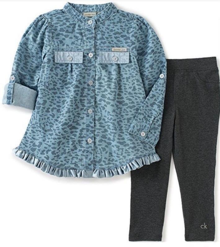 Conjunto com Camisa Onça Calvin Klein