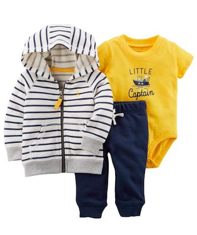 Conjunto Little Captain Carter's
