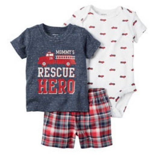 Conjunto Rescue Hero Carter's