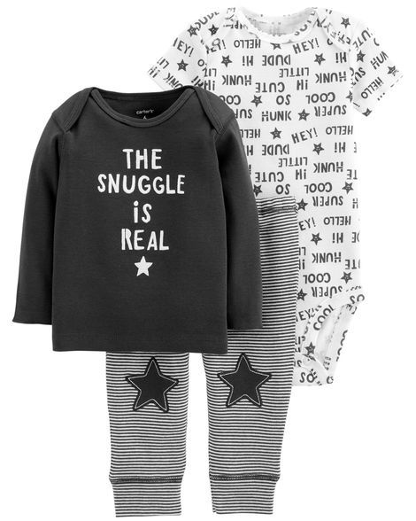 Conjunto The Snuggle is Real Carter's