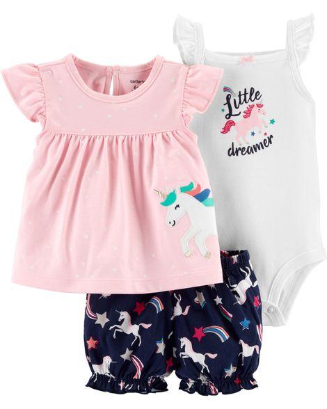Conjunto Unicórnio Little Dreamer Carter's