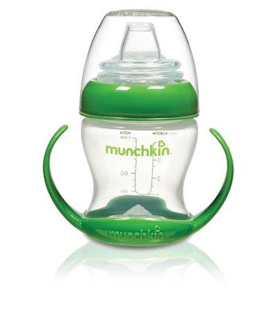 Copo de Transição Munchkin Verde com Alça