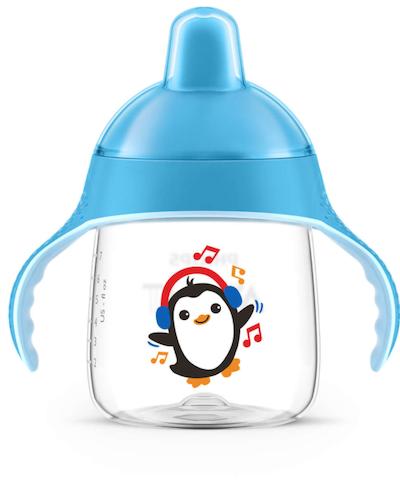Copo de Transição Pinguim Philips Avent 200ml 12+ Azul
