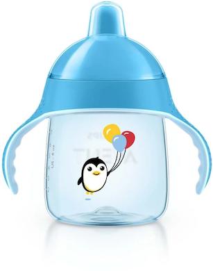 Copo de Transição Pinguin Philips Avent 200ml Azul Balão