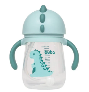 Copo Dino Buba Baby Verde