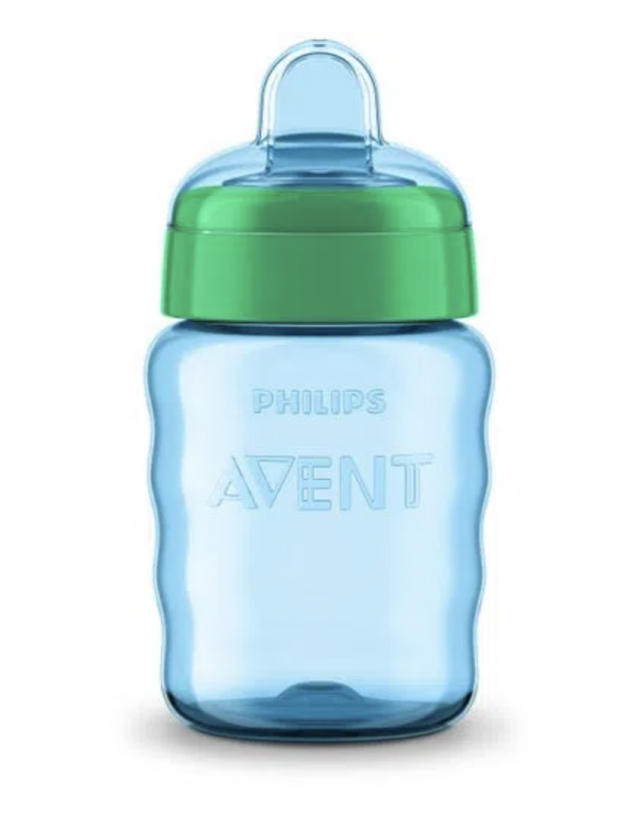 Copo Easy Sip Philips Avent Azul 9M+