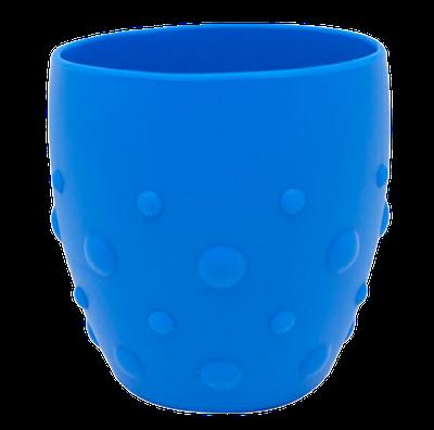 Copo em Silicone para Treinamento Marcus & Marcus com Grip Azul