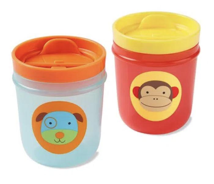 Copos Skip Hop Kit c/2 Macaco/cachorro