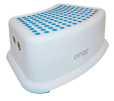 Degrau Infantil Step Dots Clingo Azul