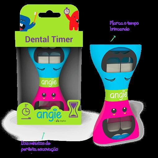 Dental Time Ampulheta para Escovação Angie by Angelus