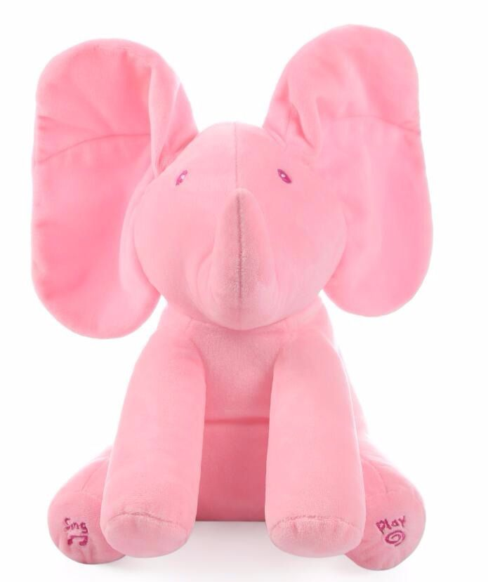 Elefante Rosa Musical Moonbiffy