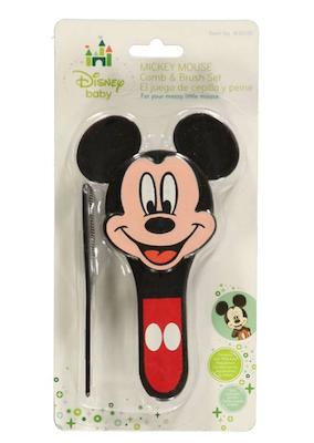 Escova e Pente Kit Mickey Mouse