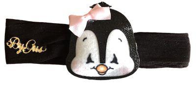 Faixa By Gus para Bebês com Pinguin Preto
