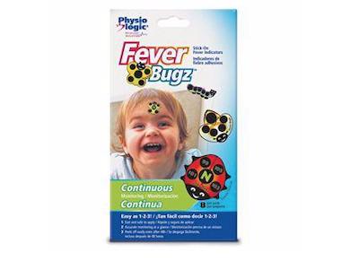 Feber Bugz Adesivos Monitoradores de Febre Physio Logic
