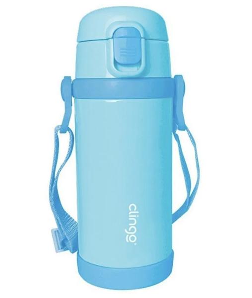 Garrafa Térmica Premium Clingo Azul