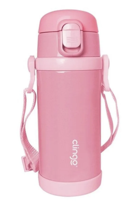 Garrafa Térmica Premium Clingo Rosa