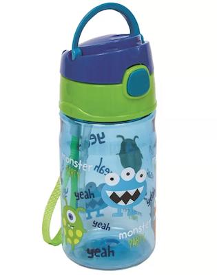 Garrafinha Buba Baby Monster Party Azul