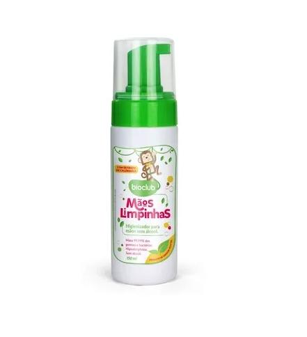 Higienizador para Mãos Bioclub Baby 150ml