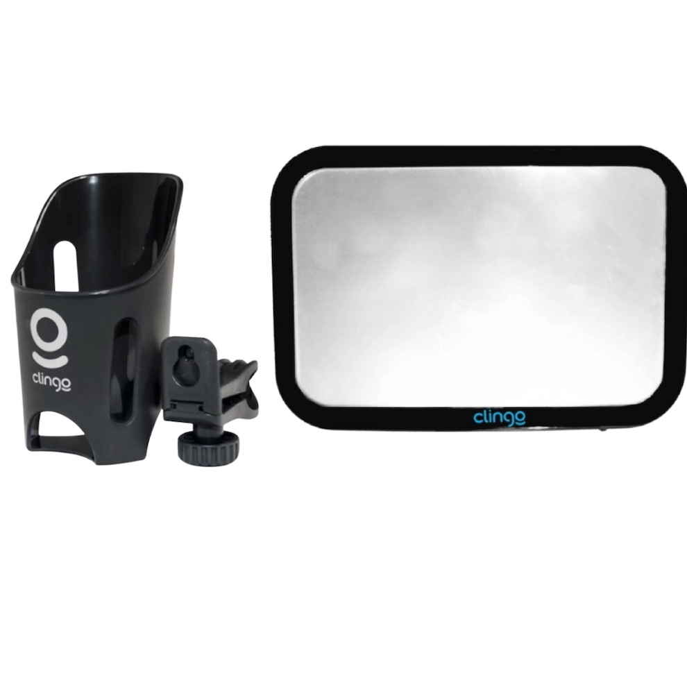 Kit Porta Copos e Espelho Retangular Clingo