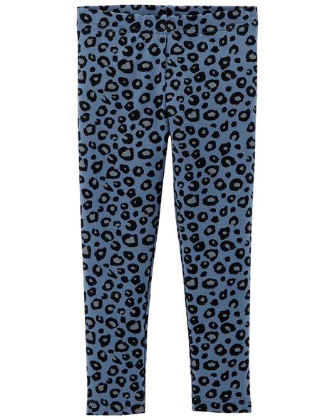 Calça Legging Onça Azul Carter's