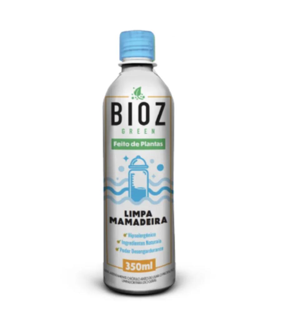 Limpa Mamadeiras Detergente Bioz Green 350ml