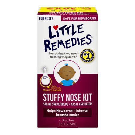Little Remedies Stuffy Kit Aspirador para Nariz