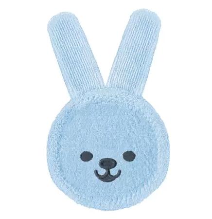 Luva para Cuidado Oral MAM Rabbit Azul 0M+