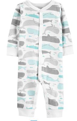 Macacão Baleias Coloridas Carter's