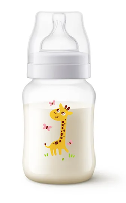 Mamadeira Anti-Cólica Clássica Girafa Philips Avent 260ml