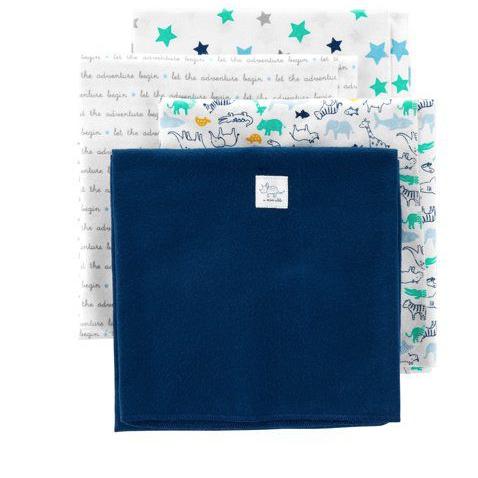 Mantas de Flanela Child of Mine Azul