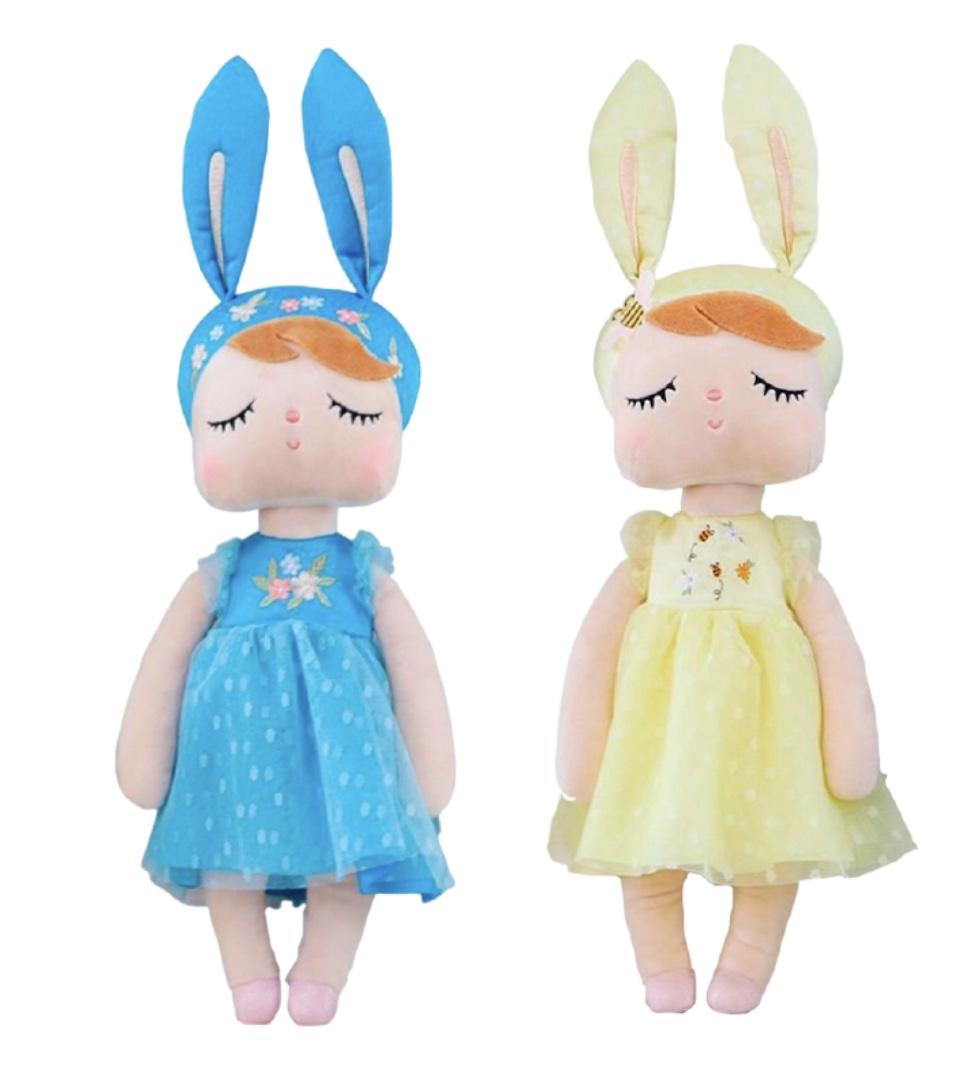 Metoo Beatrice Bee e Angela Princess Azul
