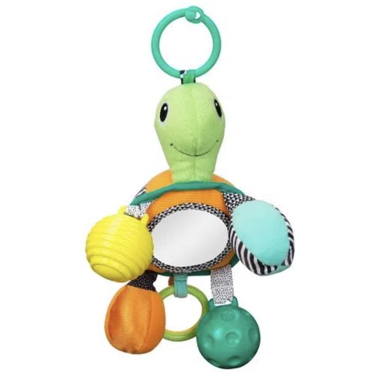 Móbile Infantino com Espelho Tartaruga Silicone