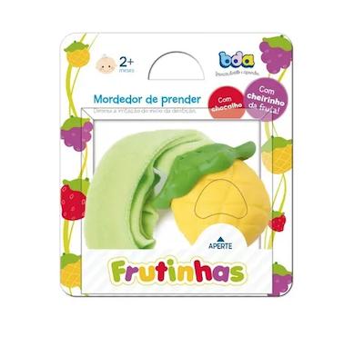 Mordedor Frutinha BDA com Chocalho e Cheirinho Abacaxi