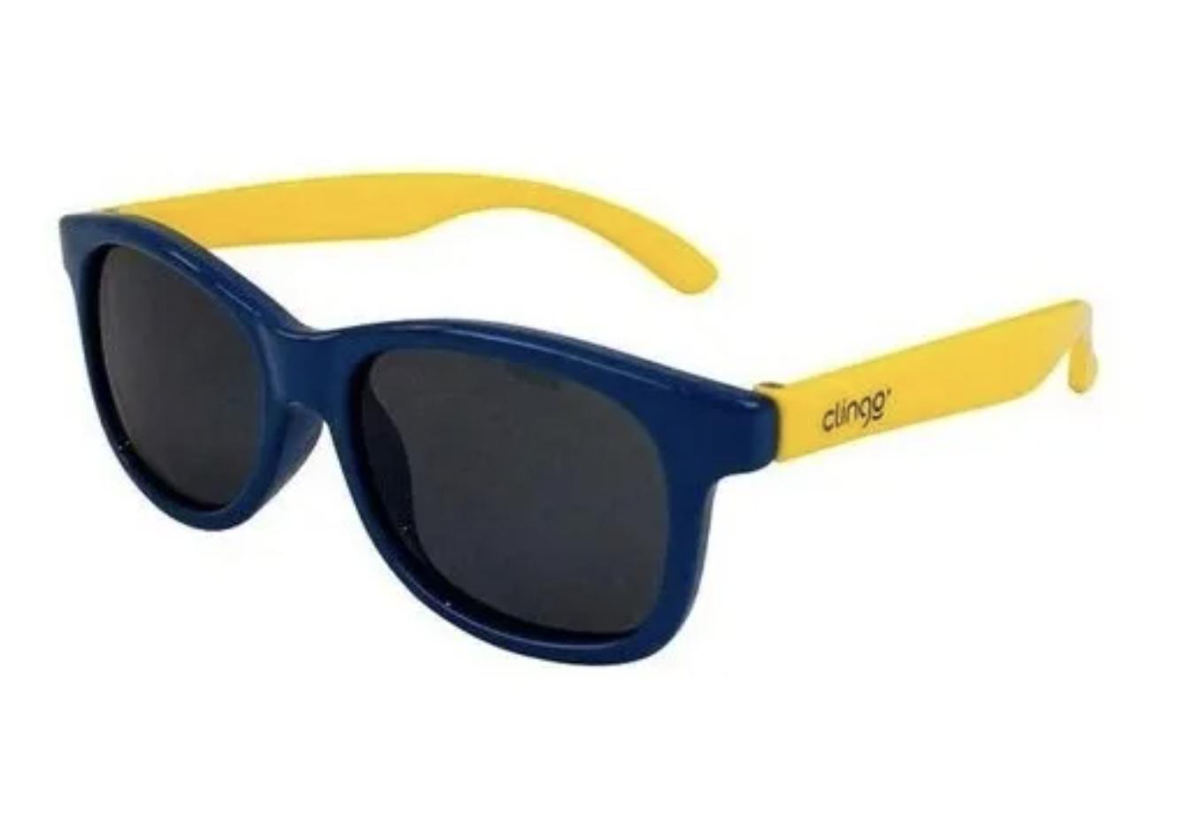 Óculos de Sol Azul e Amarelo Clingo 12M