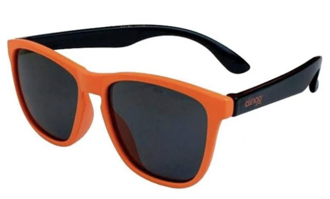 Óculos de Sol Laranja e Preto Clingo 36M