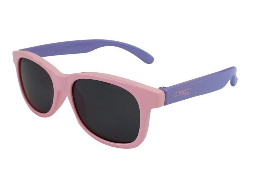 Óculos de Sol Rosa e Lilás Clingo 12M