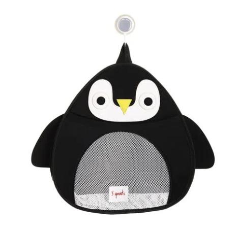 Organizador de Banho 3 Sprouts Pinguim